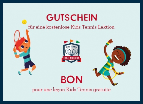 Kids Tennis Schnupperlektion