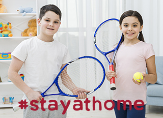 #stayathome mit Kids Tennis